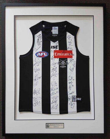 collingwood fc 2017 double mat and plaque approx 420 640x480 1