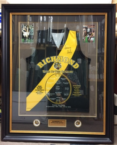 team of the century richmond guernsey with photos and plaque approx 650 640x480 1
